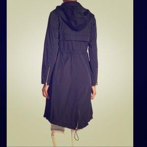 Cole Haan- navy blue rain jacket